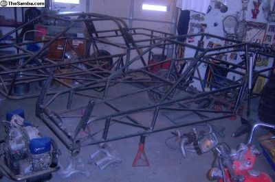 fully welded mid travel chassis.