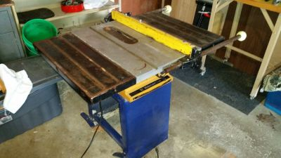 "Rockwell 10"" table saw"