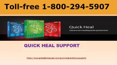 1-800-294-5907 | Quick heal support Toll free Number