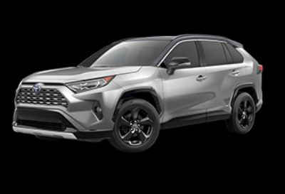2019 Toyota RAV4 Hybrid XSE (Silver Sky Metallic W/ Midnight Black Me)