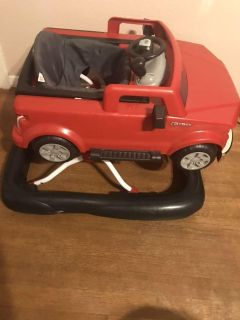 Bright Starts 3Way To Play Ford F-150 Baby Walker.