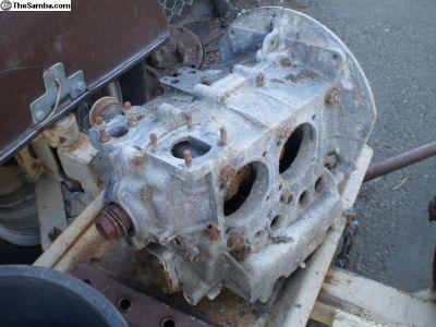 1300 F case short block 1966 engine