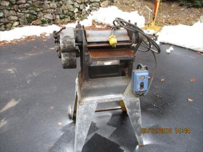 """12"""" Parks Thickness Planer with Steel Stand & 2HP"""
