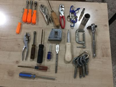 MIXED LOT OF SHOP TOOLS all for $6