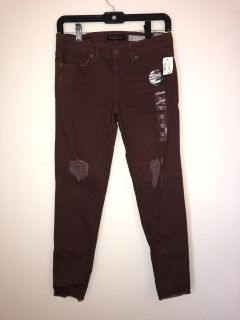 Wine colored jeans/jeggings from Aeropostale