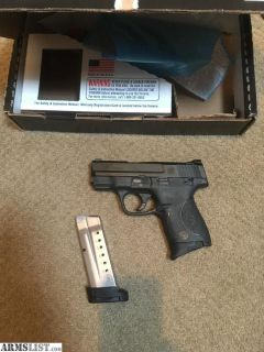 For Sale: 9mm S&W Shield