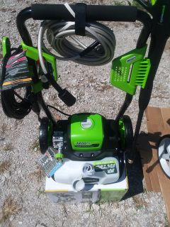 New green works electric power washer