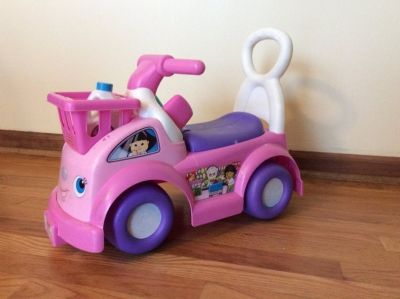Little People Pink Ride-On Toy