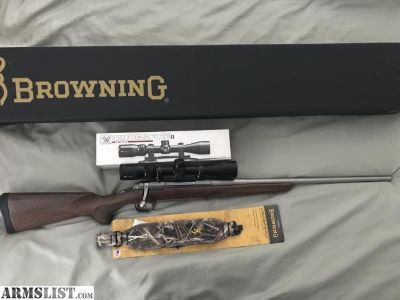 For Sale/Trade: Browning xbolt 270