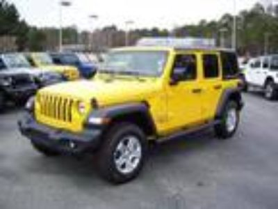 new 2018 Jeep Wrangler for sale.