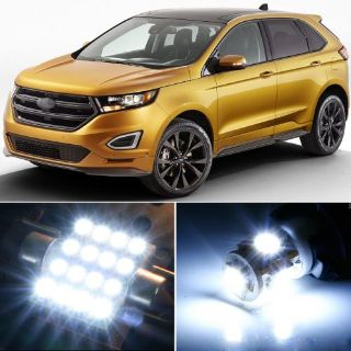Find 12 x Premium Xenon White LED Lights Interior Package Upgrade for Ford Edge motorcycle in Chicago, Illinois, United States
