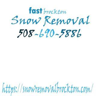 fast brockton Snow Removal