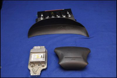 Buy 03 04 FORD MUSTANG SVT COBRA DARK CHARCOAL AIRBAGS AIR BAGS BAG SET & MODULE #2 motorcycle in Statham, Georgia, US, for US $299.99