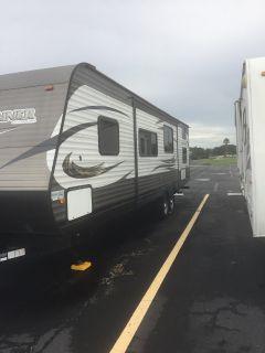 Rv trailer 2 door nice