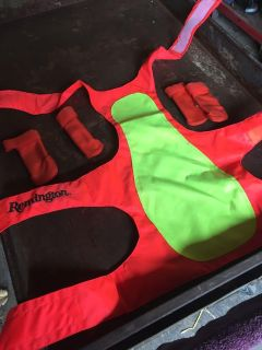 Dog safety vest and boots