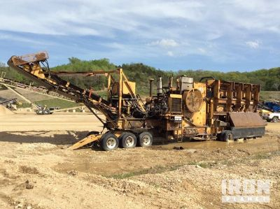 Allis Chalmers 75 105RT Portable Jaw Crusher Plant