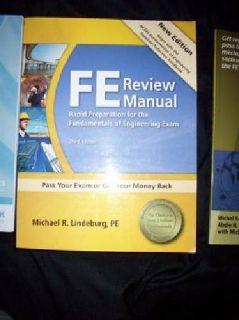 $135 OBO FE, EIT, Exam prep books