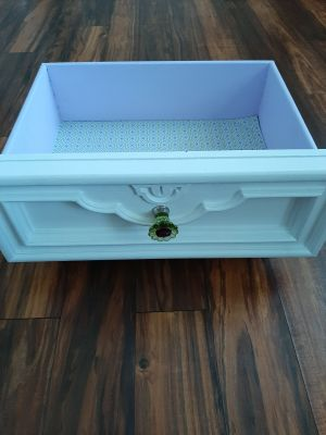 Upcycled Drawer for Display or Dog / Cat Bed
