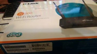 Router Wireless D- Link N300 Wi-Fi