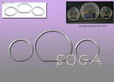 Buy 00 01 02 BENZ W210 DASH CLUSTER GAUGE TRIM RINGS E430 E320 2000 2001 2002 motorcycle in Hacienda Heights, California, United States, for US $23.99