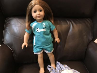 American Girl Doll with extra outfit