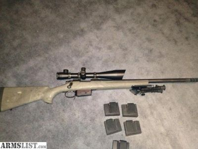 For Sale: Remington 700 AAC-SD