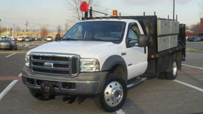 2005 Ford F550 SUPER DUTY (White)