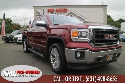 "2015 GMC Sierra 1500 4WD Crew Cab 143.5"" SLT (Fire Red)"
