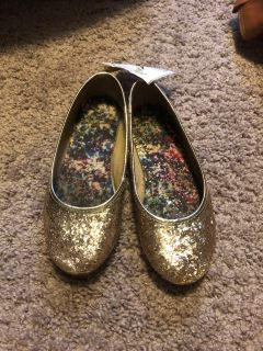 Gold faded glory shoes