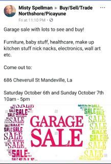 Multi Family Garage Sale Last Minute!!!