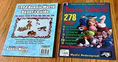 1998 Beanie World Buyer's Guide and Beanie Collector Spring Issue 1998