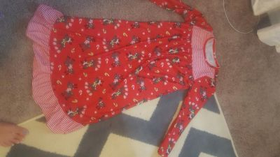 Jumping beans size 7 with matching American girl doll pjs