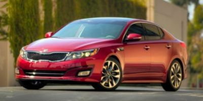 2015 Kia Optima SX Turbo (Ebony Black)