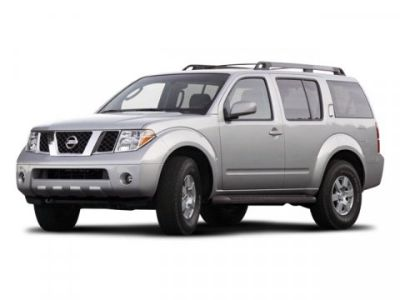 2008 Nissan Pathfinder S (White)
