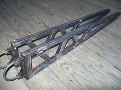 "Purchase Universal Ladder Bars Traction Bars Gasser Hot Rod Rat Rod 32"" - 40"" Nostalgia motorcycle in Lehighton, Pennsylvania, US, for US $175.00"