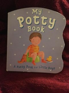 My Potty Book For Boys Board Book
