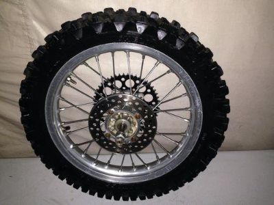 "Purchase 2006 06 KAWASAKI KX 100 KX100 REAR WHEEL OEM REAR RIM 16"" 01-10 big wheel motorcycle in Elverta, California, US, for US $109.99"