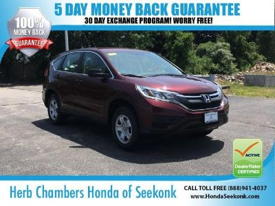 2015 Honda CR-V LX (Basque Red Pearl II)