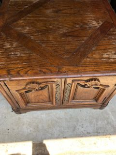 Vintage French style coffee table