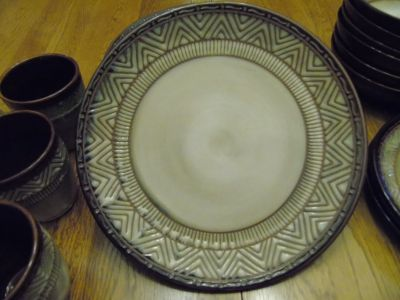 Stoneware Native Habitat by Noble Excellence 6 place setting