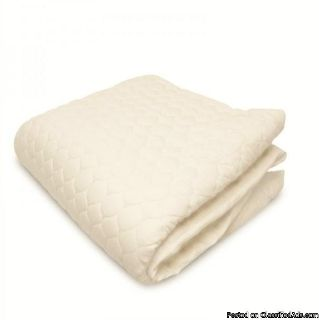 Buy Organic Cotton Fitted Mattress Pad