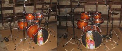$975 OBO For Sale: PDP (By DW) 7-Ply Maple Drum Set (With Cymbals)