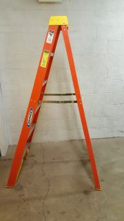 Near New Werner 6 ft Ladder