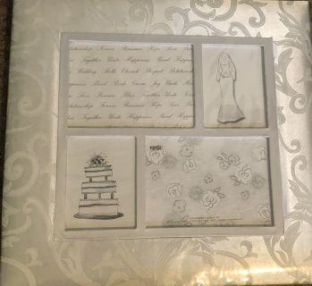 Brand new scrapbook and extras