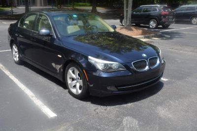2008 BMW 5-Series 528i (Blue,Dark)