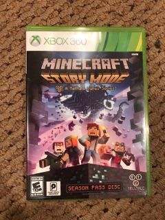 Minecraft Story Mode - XBox 360 game