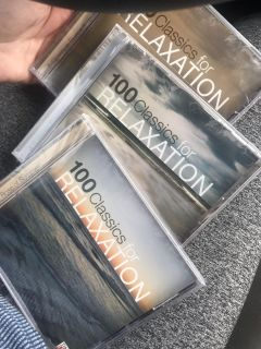 New sealed cds for relaxing sounds (3)