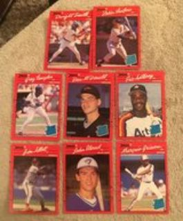 Donruss 90 Baseball Cards
