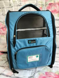 Petami Small dog cat travel carrier kennel backpack