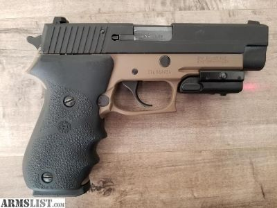 For Sale/Trade: Sig P220 .45 with Laser